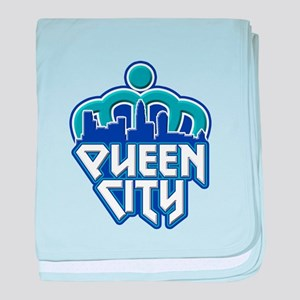 Queen City baby blanket
