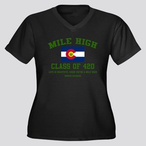 Mile High class of 420 Plus Size T-Shirt