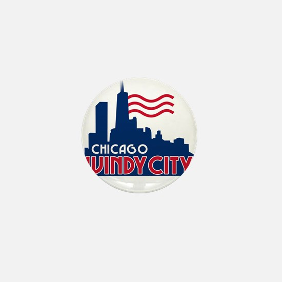 Windy City Mini Button