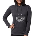 Personalize Eclipse 2017 Womens Hooded Shirt
