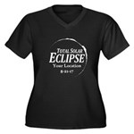 Personalize Eclipse 2017 Plus Size T-Shirt
