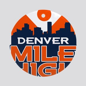 Mile High Ornament (Round)
