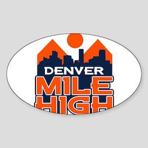 Mile High Sticker