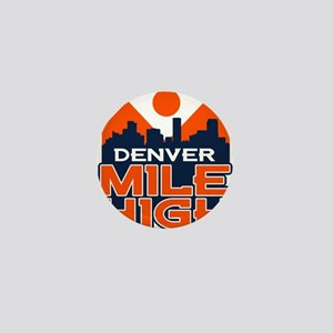 Mile High Mini Button