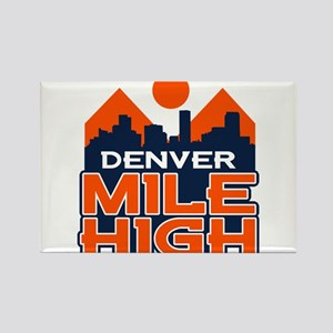 Mile High Rectangle Magnet