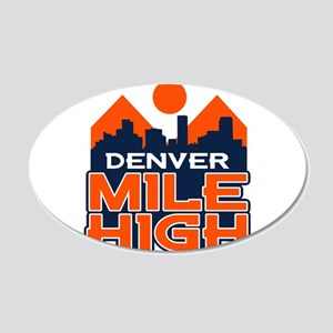 Mile High Wall Decal