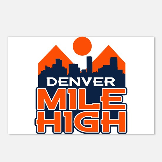 Mile High Postcards (Package of 8)