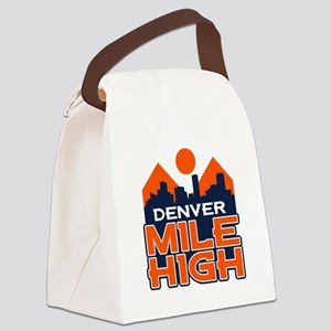 Mile High Canvas Lunch Bag
