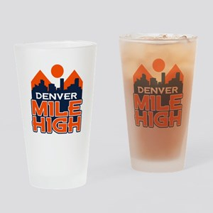 Mile High Drinking Glass