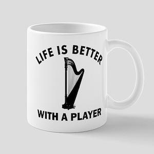 Harp Designs Mug