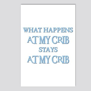 STAYS AT MY CRIB Postcards (Package of 8)