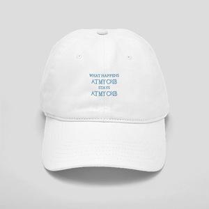 STAYS AT MY CRIB Cap
