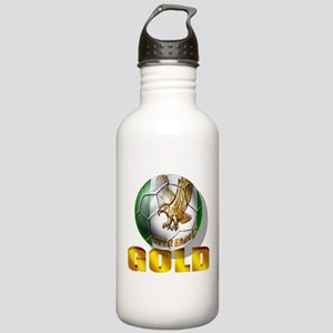 Nigerian Football Gold Stainless Water Bottle 1.0L