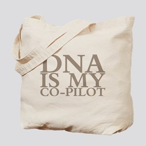 DNA is my co-pilot Tote Bag