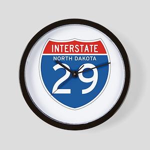 Interstate 29 - SD Wall Clock
