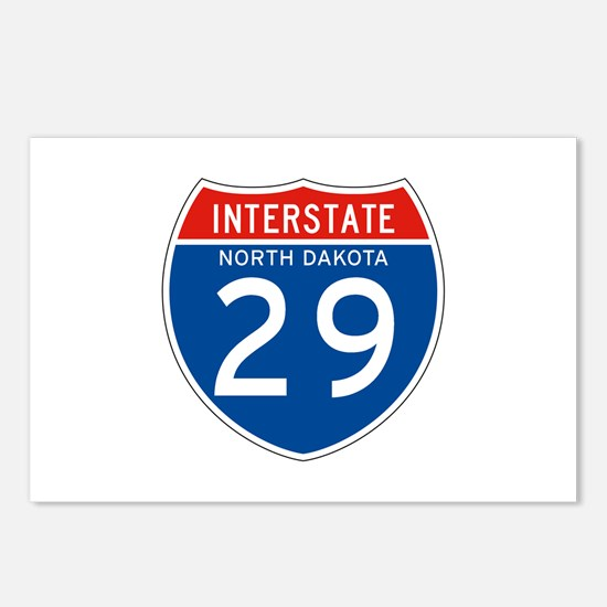 Interstate 29 - SD Postcards (Package of 8)