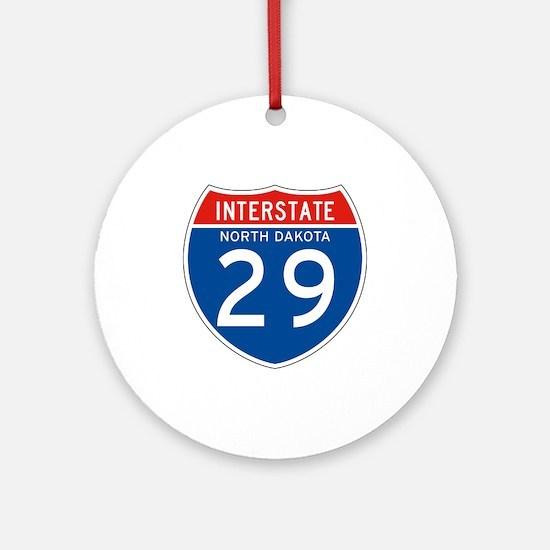 Interstate 29 - SD Ornament (Round)