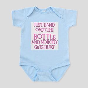 HAND OVER THE BOTTLE Infant Bodysuit