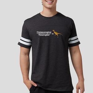 Velociraptor Math Mens Football Shirt