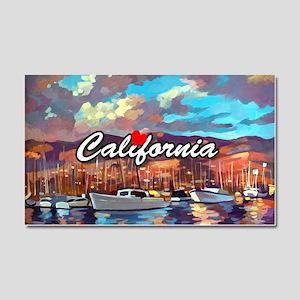 Santa Barbara Car Magnet 20 x 12