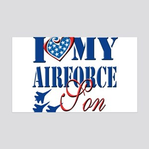 I Love My Airforce Son Wall Decal