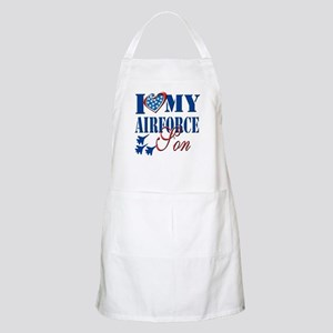 I Love My Airforce Son Apron
