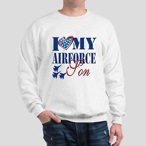 I Love My Airforce Son Sweatshirt