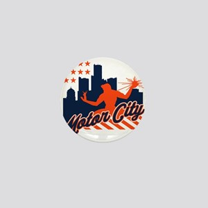 Motor City Mini Button