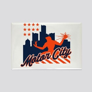 Motor City Rectangle Magnet
