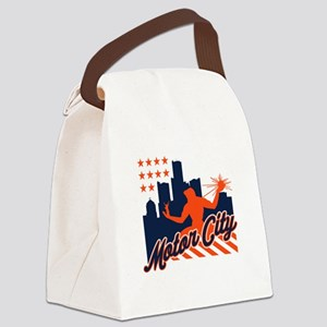 Motor City Canvas Lunch Bag
