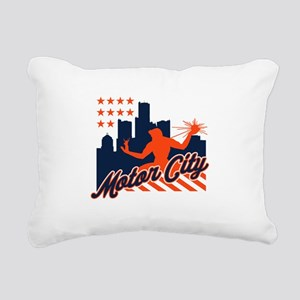 Motor City Rectangular Canvas Pillow
