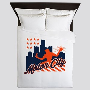 Motor City Queen Duvet