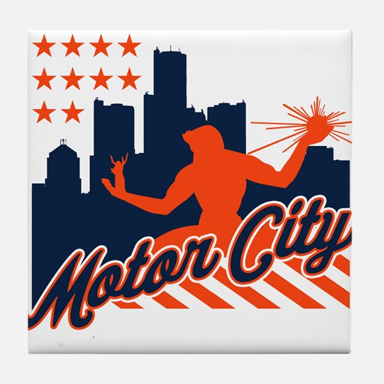 Motor City Tile Coaster