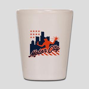 Motor City Shot Glass