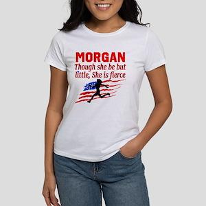 RUN TRACK Women's Classic White T-Shirt