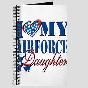 I Love My Airforce Daughter Journal