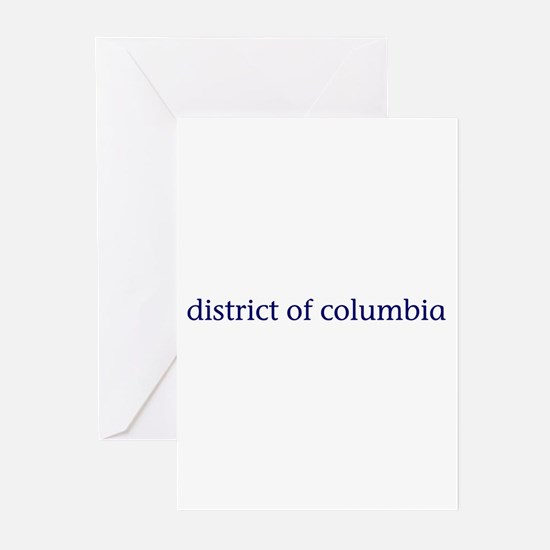 District of Columbia Greeting Cards (Pk of 10)