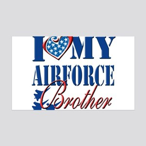 I Love My Airforce Brother Wall Decal