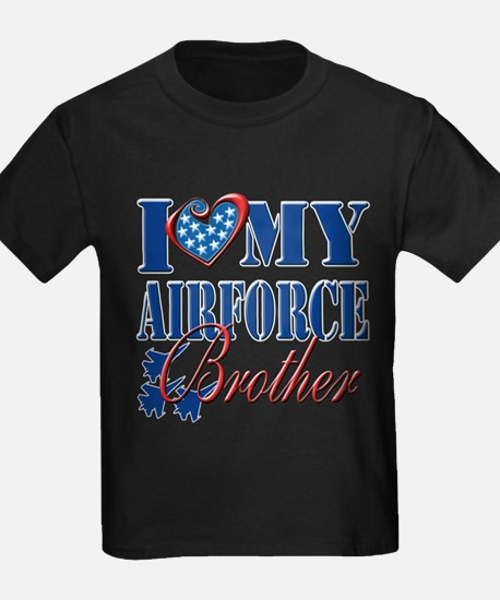 I Love My Airforce Brother T-Shirt