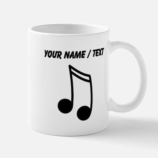 Custom Eighth Note Mug