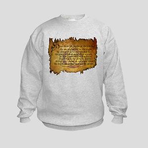 charmed invoking spell Sweatshirt