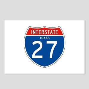 Interstate 27 - TX Postcards (Package of 8)