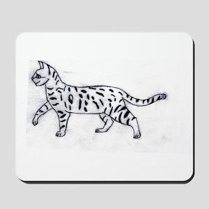 Bengal or Savannah Cat Mousepad