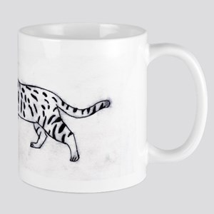 Bengal or Savannah Cat Mug