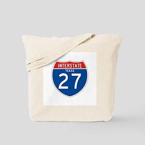 Interstate 27 - TX Tote Bag