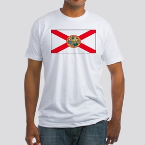 Florida Sunshine State Flag Fitted T-Shirt