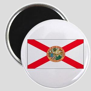 Florida Sunshine State Flag Magnet