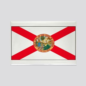 Florida Sunshine State Flag Rectangle Magnet