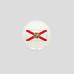 Florida Sunshine State Flag Mini Button