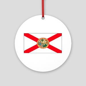 Florida Sunshine State Flag Christmas Ornament